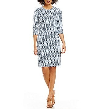 J.McLaughlin Catalyst Geometric Keyhole Dress