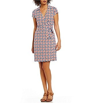 J.McLaughlin Lila Geometric Wrap Dress