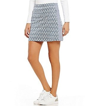 J.McLaughlin Palm Spring Geometric Skort