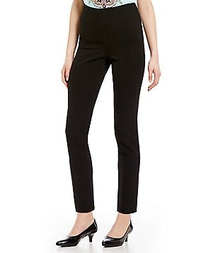 Alex Marie Slim Fit Flat Front Pant