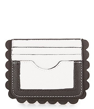 Kate Landry Flirty Scalloped Mini Credit Card Organizer