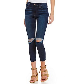 Joe´s Jeans Charlie High Rise Released Hem Skinny Crop Jeans