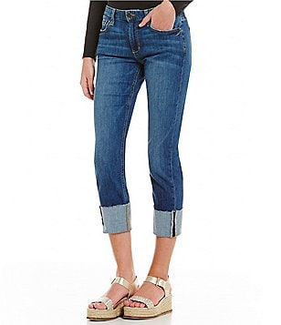 Joe´s Jeans Smith Mid Rise Cuffed Skinny Jeans