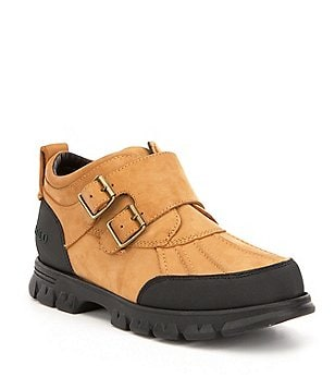 Polo Ralph Lauren Men´s Darroll Nubuck Double Buckled Strap Boot