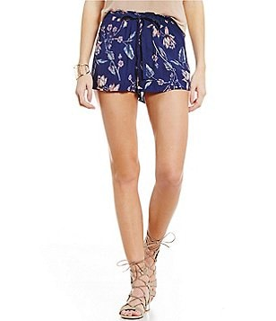 Billabong Until The Night Floral-Printed Shorts