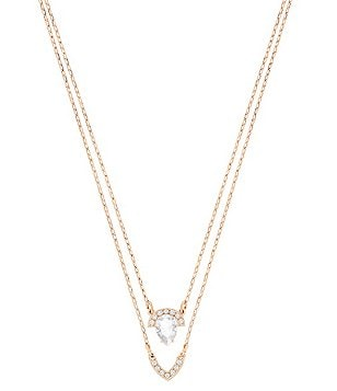 Swarovski Gallery Pavé Crystal Pendant Multi-Strand Necklace