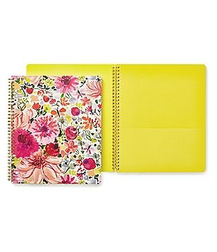 kate spade new york Dahlia Large Spiral Notebook