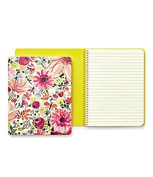 kate spade new york Dahlia Floral Spiral Notebook