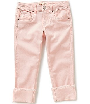 Copper Key Big Girls 7-16 Cuffed Stretch Capris
