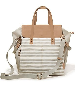 Skip Hop Highline Striped Convertible Diaper Backpack