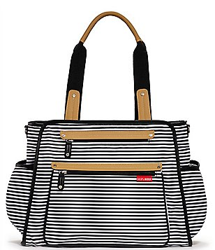 Skip Hop Grand Central Take It All Striped Diaper Bag