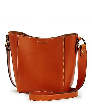 Frye Harness Cross-Body Bucket Bag