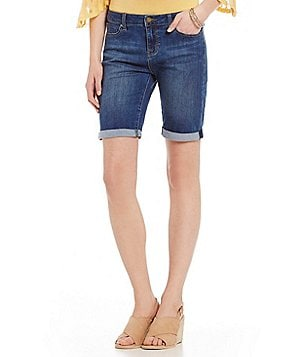 Liverpool Jeans Company Hayden Roll-Cuff Bermuda Shorts