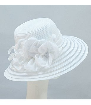 Giovannio Taffeta School Girl Dress Hat