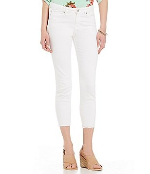 Liverpool Jeans Company Avery Destruction Detail Crop Ankle Jeans