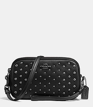 COACH CROSSBODY CLUTCH WITH OMBRÉ RIVETS
