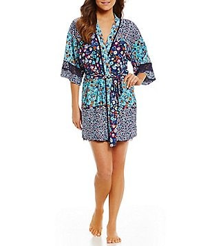 In Bloom by Jonquil Heathercliff Floral Wrap Robe