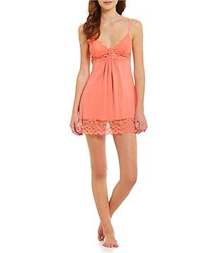 In Bloom by Jonquil Lace-Trimmed Chemise