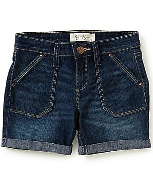 Jessica Simpson Big Girls 7-16 Treasure Bermuda Cuffed Shorts