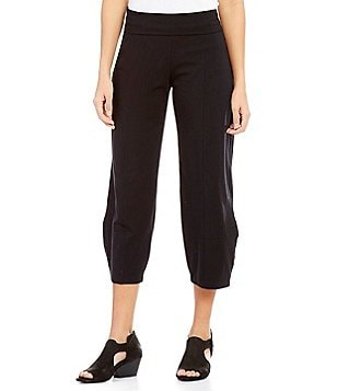 Eileen Fisher Foldover Lantern Ankle Pants