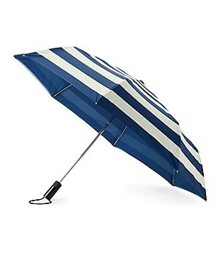 kate spade new york Jubilee Striped Travel Umbrella