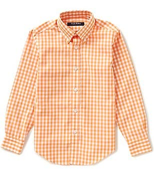 Brooks Brothers Little/Big Boys 4-20 Non-Iron Button-Down Gingham Shirt