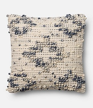 Magnolia Home by Joanna Gaines Lexi Wool & Cotton Square Feather Pillow