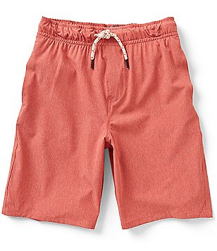 First Wave Big Boys 8-20 Etched Pull-On Shorts
