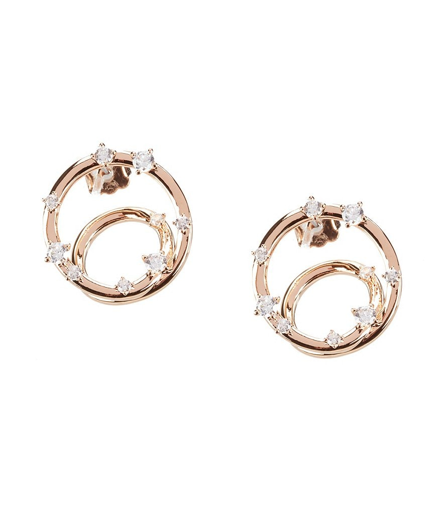 Nadri Spica Front/Back Earrings
