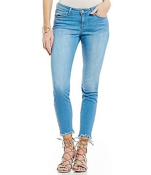 William Rast Stretch Skinny Ankle Crop Jeans