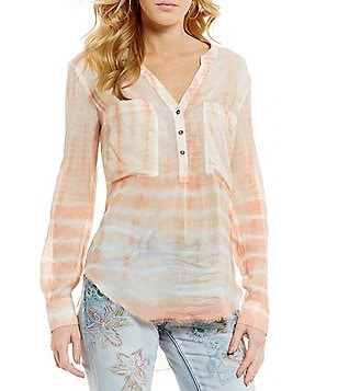 William Rast Selina The Perfect Easy Long Sleeve Top