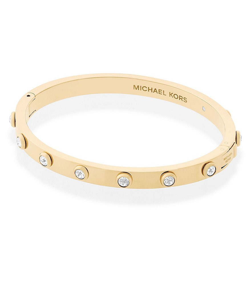 Michael Kors Haute Hardware Hinged Bangle Bracelet