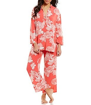 N by Natori Reign of Flowers Challis Pajamas