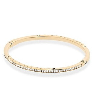 Michael Kors Haute Pavé Hinged Bangle Bracelet
