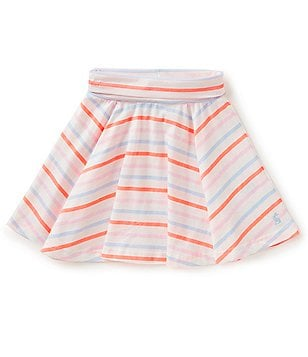 Joules Little Girls 3-6 Izzie Striped Skater Skirt