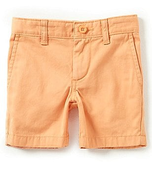 Class Club Little Boys 2T-7 Solid Flat Front Shorts