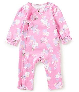 kate spade new york Baby Girls 3-9 Months Floral Ruffled Coverall