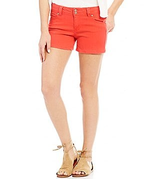 Celebrity Pink Super Soft Woven Stretch Denim Shorts
