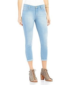 Celebrity Pink Super Soft Roll Cuff Skinny Crop Jeans