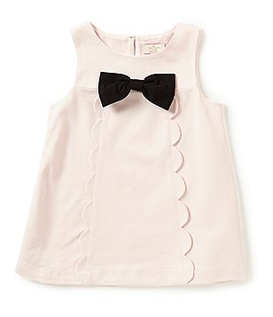 kate spade new york Big Girls 7-14 Scalloped Ponte Top