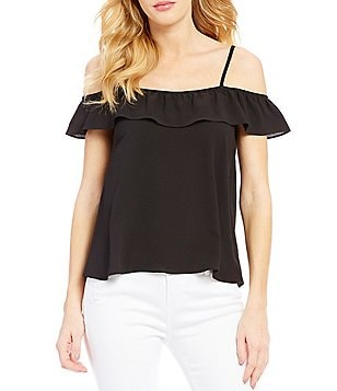 Moa Moa Off-The-Shoulder Ruffle Top