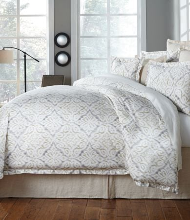 Southern Living Hartford Floral Medallion Egyptian Cotton