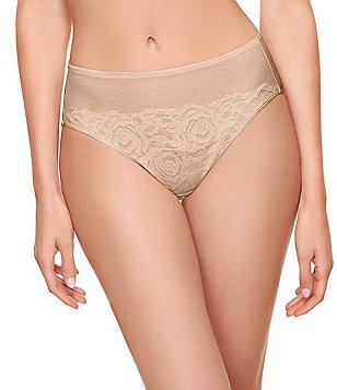 Wacoal Stark Beauty Floral Lace Hi-Cut Brief Panty
