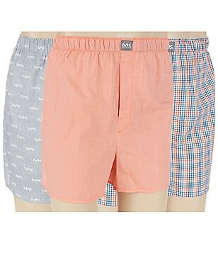 Michael Kors Woven Boxers 3-Pack