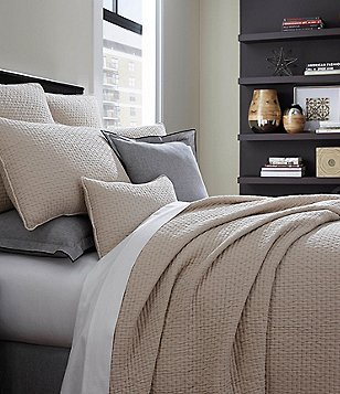 Moderne by Noble Excellence Genesis Stonewashed Matelassé Coverlet