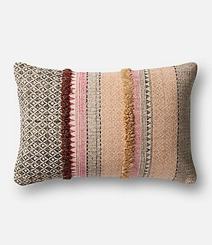 Magnolia Home by Joanna Gaines Norma Striped Cotton Pillow