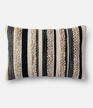 Magnolia Home by Joanna Gaines Zander Striped Breakfast Pillow