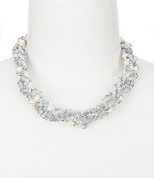 Dillard´s Tailored Beaded Torsade Necklace