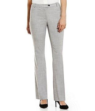 Calvin Klein Stretch Woven Crosshatch Suiting Modern Fit Straight-Leg pants