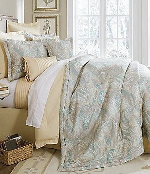 Villa by Noble Excellence Solana Paisley & Striped Comforter Mini Set